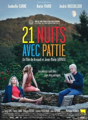 21 nuits avec pattie_larrieu_affiche