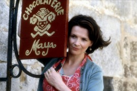 Juliette Binoche - Chocolat Bleu