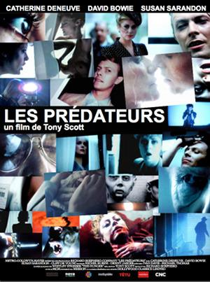affiche Les Predateurs The Hunger
