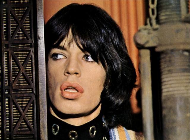 Nicolas Roeg Mick Jagger performance